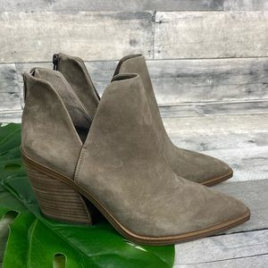 Vince Camuto gigietta boots shoes bootie suede